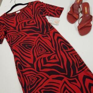 XS LuLaRoe Julia dress NWT